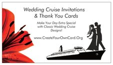 Wedding Cruise Business Card